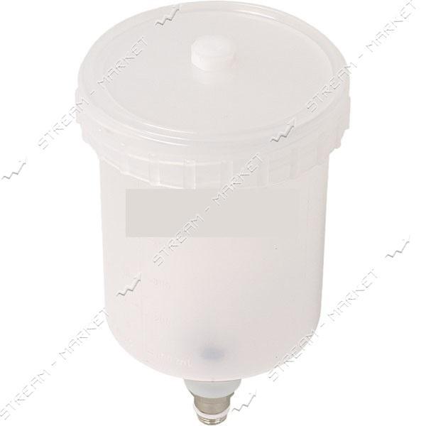 Miol 80-950 Бачок пластиковый на пневмопистолет объем 600мл, наружная резьба