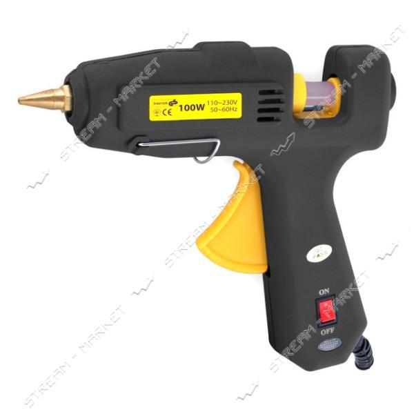 SIGMA 2721101 пистолет термоклеевой с выключателем d 11, 2 мм 100 Вт, к стержням 11, 2 мм