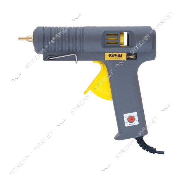 SIGMA 2721221 Пистолет термоклеевой d 11, 2 мм 500 Вт, к стержням 11, 2 мм