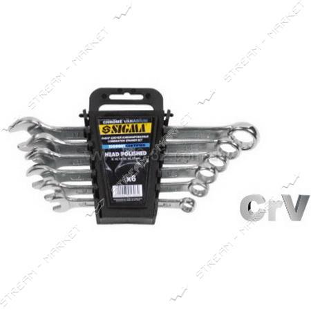 SIGMA 705708 ключи рожково-накидные 8шт 6-19мм HEAD POLISHED