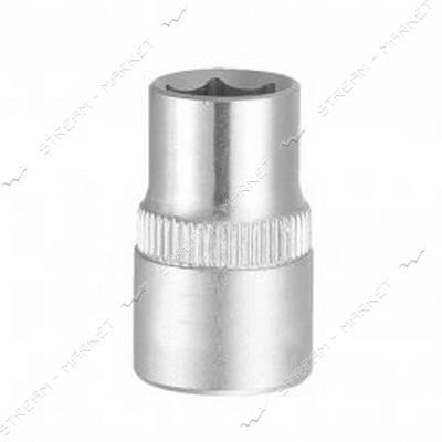 SIGMA 711209 насадка шестигранная короткая 1/2' 9мм CrV ULTRA