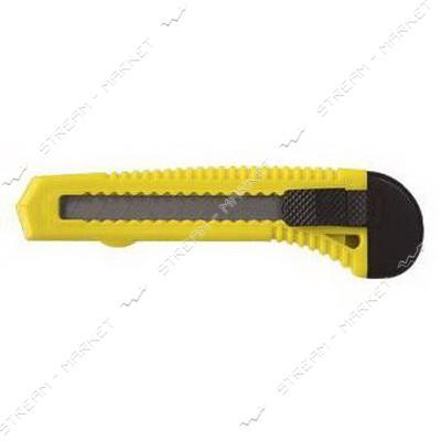 SIGMA 8213011 (580008) нож с отламыващимся лезвием 18мм подв.замок