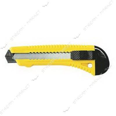SIGMA 8213021 (580028) нож с отламыващимся лезвием 18мм подв.замок