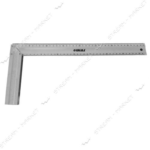 SIGMA 3615451 Угольник алюминиевый 400 мм