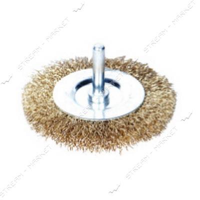 SIGMA 9013101 (901310) щетка проволочная 'дискообразная' 100мм (Дрель)