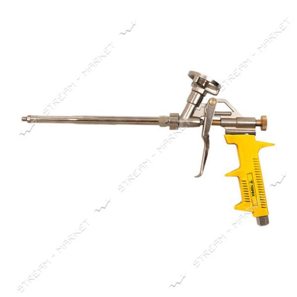 TOPEX 21B501 Пистолет для пены (желтая ручка)
