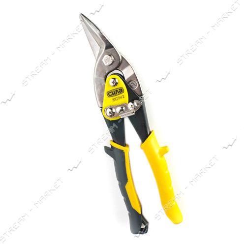 СИЛА 310741 Ножницы по металлу 250мм левые Cr-Mo