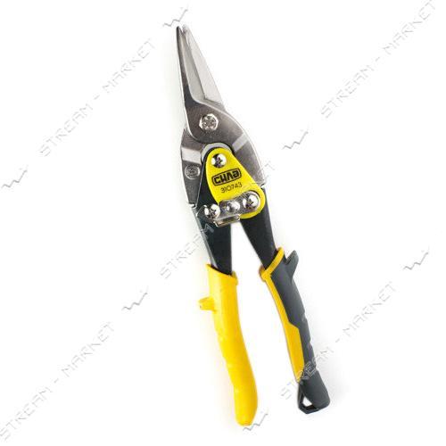 СИЛА 310743 Ножницы по металлу 250мм прямые Cr-Mo