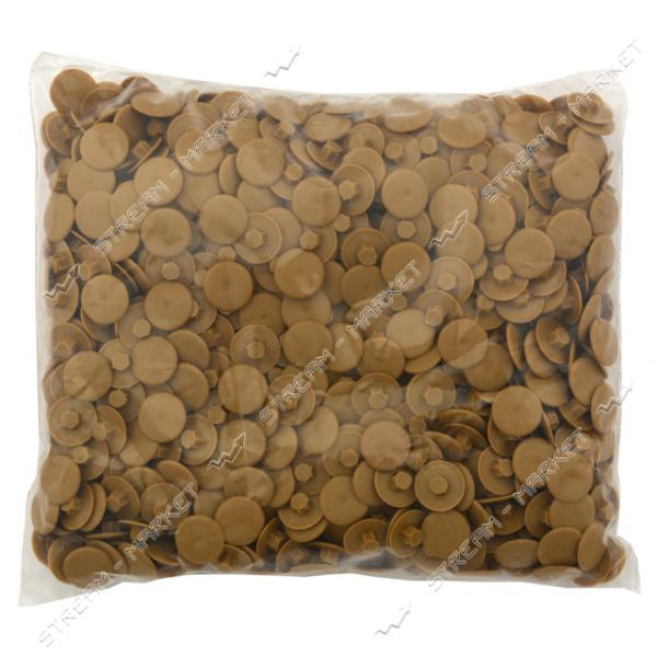 Заглушка пластиковая под конфирмат (цена за упаковку 1000шт) Дуб Седан