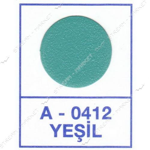 Заглушка WEISS самоклейка 0412 Yesil 50шт