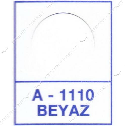 Заглушка WEISS самоклейка 1110 Beyaz 50шт