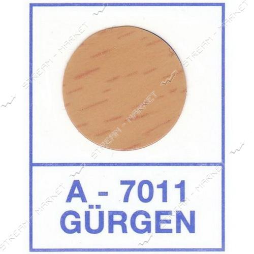 Заглушка WEISS самоклейка 7011 Gurgen 50шт