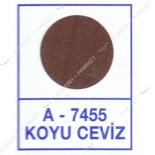 Заглушка WEISS самоклейка 7455 Koyu Ceviz 50шт