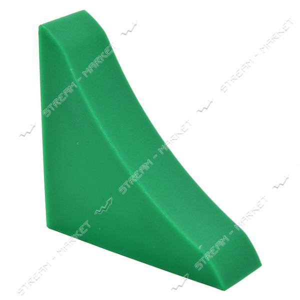 Заглушка для плинтуса универсальная зеленая