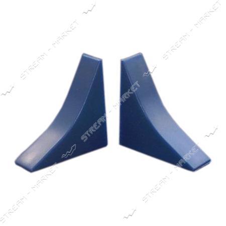 Заглушка для плинтуса универсальная синяя