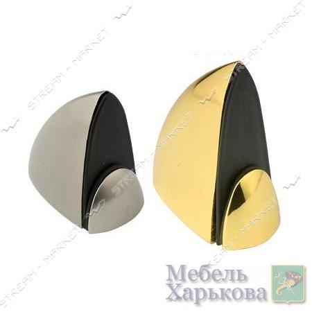 Полкодержатель мебельный Пеликан 916-S-42мм золото 2шт - Полкодержатели, стеклодержатели в Харькове