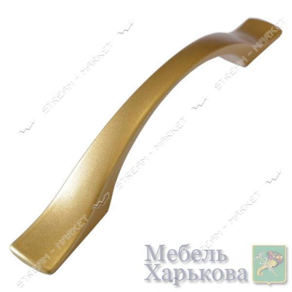 Ручка мебельная 5099 HUDA 96мм матовое золото - Мебельные ручки в Харькове