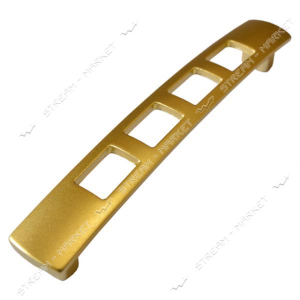 Ручка мебельная 5126 PETEK 128мм матовое золото