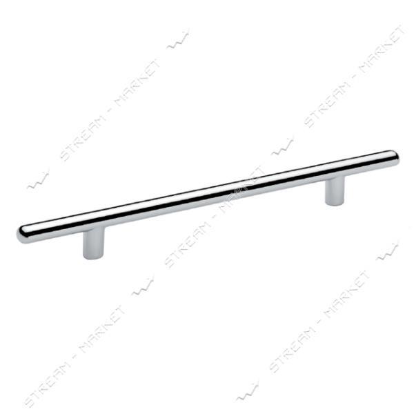 Ручка мебельная рейлинговая CUBUK 96мм матовый хром