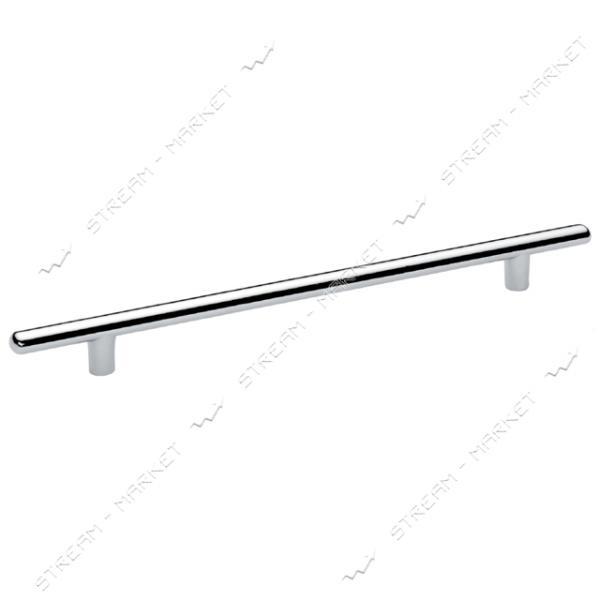 Ручка мебельная рейлинговая CUBUK 224мм хром