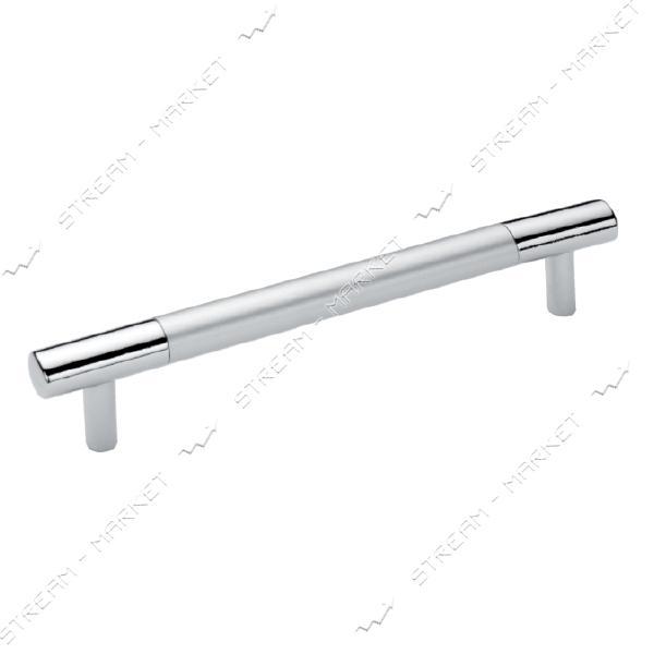 Ручка мебельная рейлинговая BOY CULP 160мм матовый хром-хром