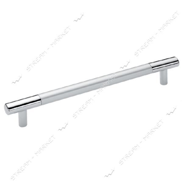 Ручка мебельная рейлинговая BOY CULP 224мм матовый хром-хром