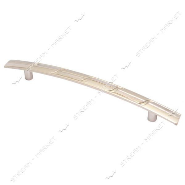 Ручка мебельная 6201-96 хром-сатин