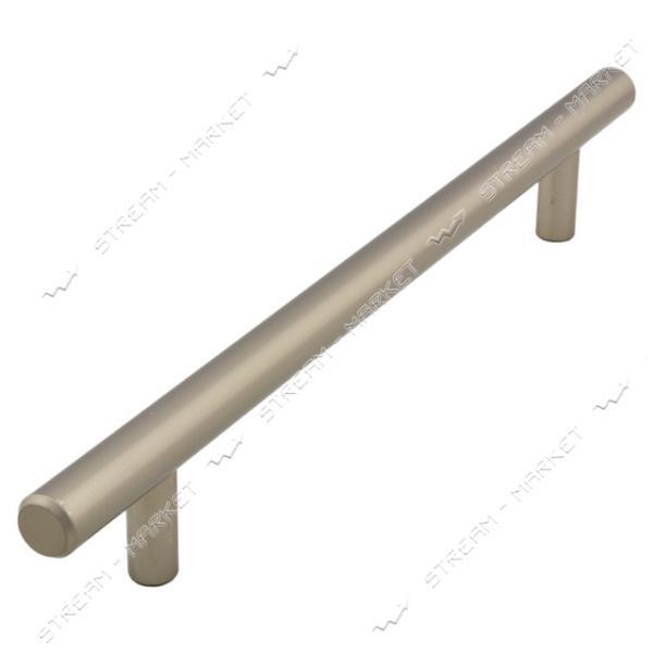 Ручка мебельная рейлинговая 192мм сатин