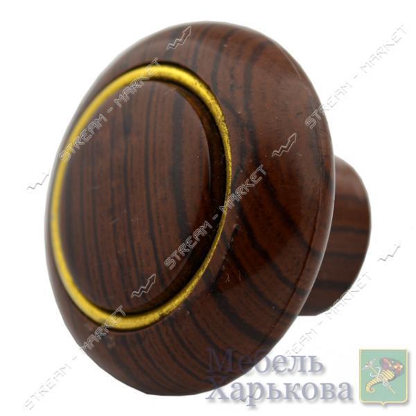 Ручка мебельная пластиковая Кнопка кольцо - Мебельные ручки в Харькове