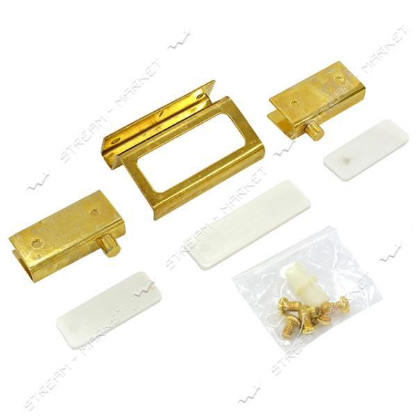 Комплект ZS90 для стеклянной двери золото