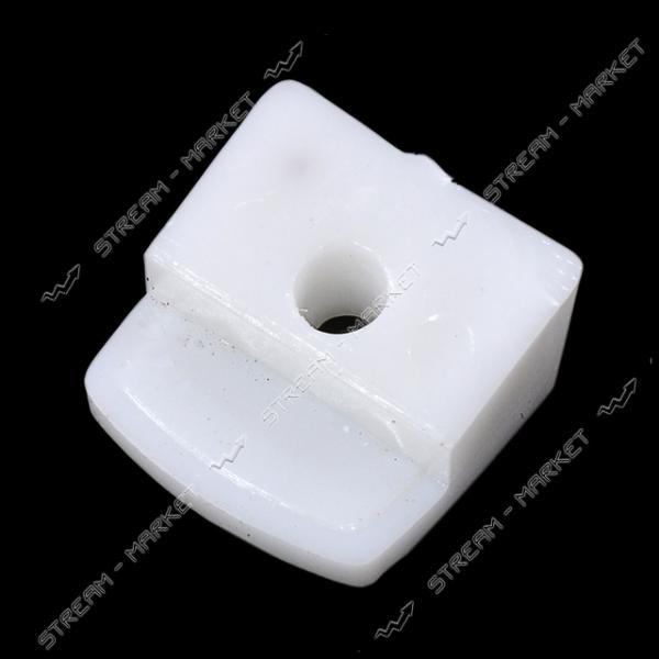 Стеклодержатель пластмассовый белый