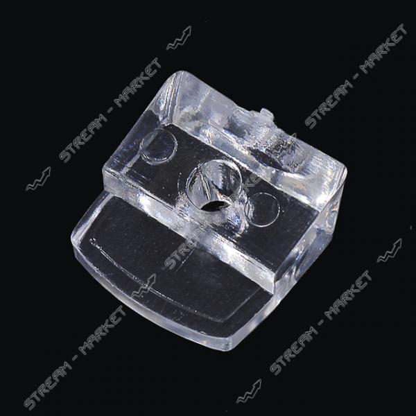 Стеклодержатель пластмассовый прозрачный