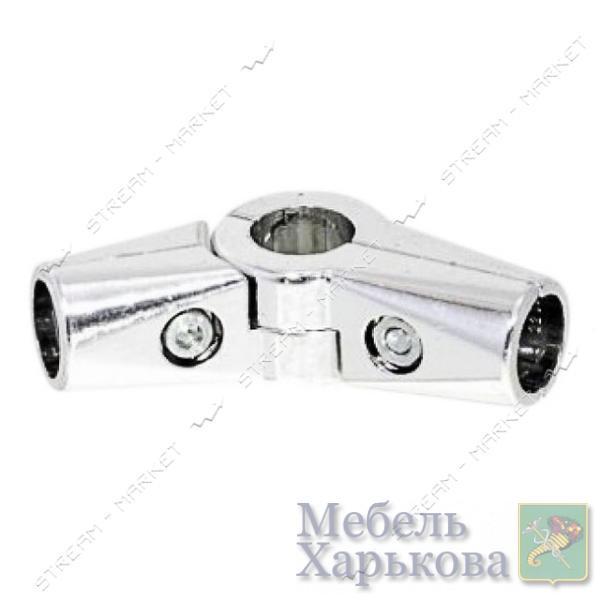 Соединитель для трубы d25 мм R43 угловое - Комплектующие для мебели в Харькове