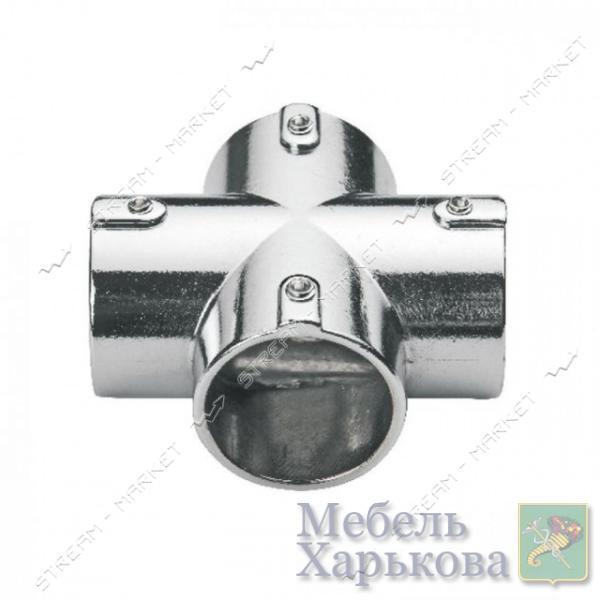 Соединитель для трубы d25мм крестообразный - Комплектующие для мебели в Харькове