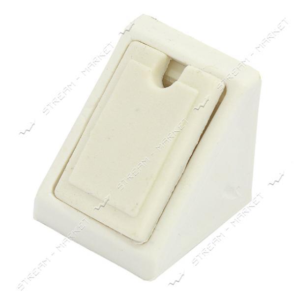 Уголок мебельный пластик одинарный белый