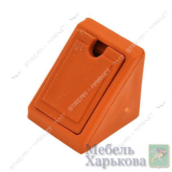 Уголок мебельный пластик одинарный ольха - Мебельные стяжки и уголки в Харькове