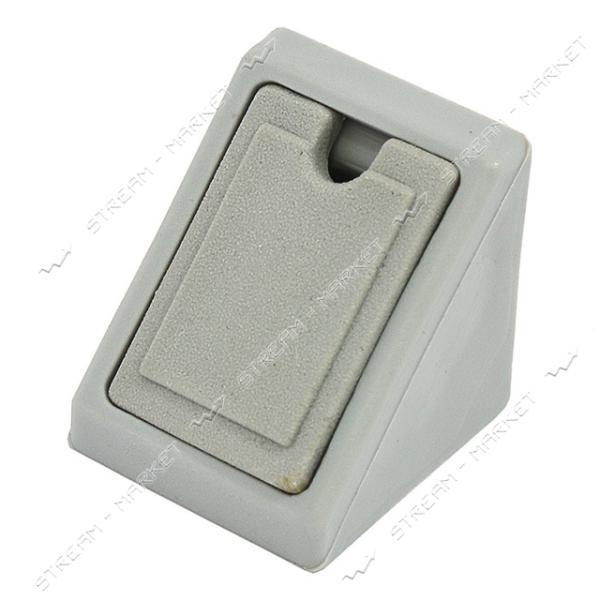 Уголок мебельный пластик одинарный серый