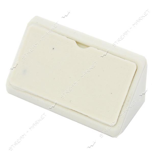 Уголок мебельный пластик двойной белый
