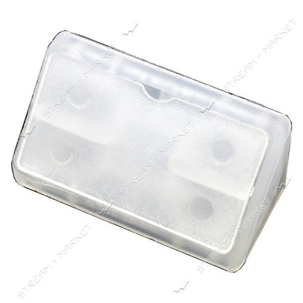 Уголок мебельный пластик двойной прозрачный