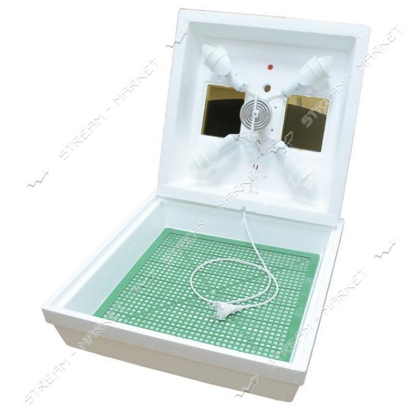 Инкубатор Квочка МИ-30-1 на 70 яиц с цифровым дисплеем температуры