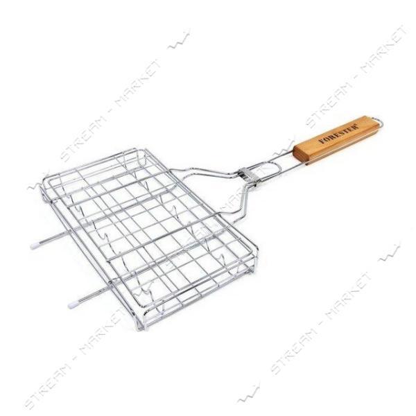 Forester Решетка-гриль для сосисок, колбасок, шпикачек 12x22см
