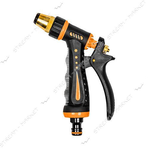 ECO LINE 7205 Пистолет латунь ZEBRA с регулировкой