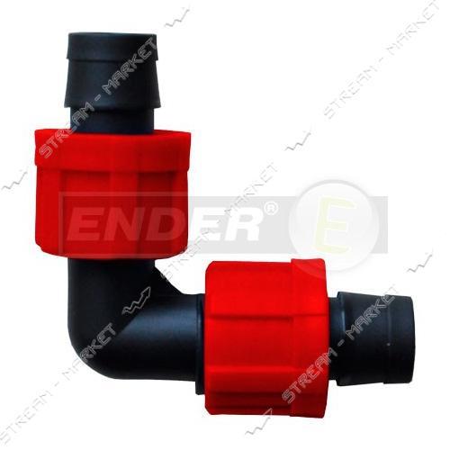 Угловое соединение для капельной ленты 20011/2 Ender