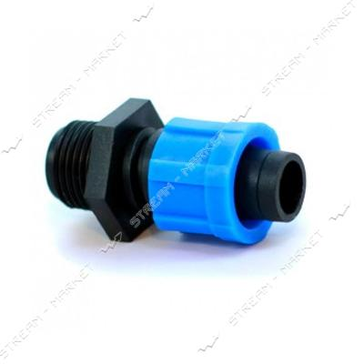 Presto-PS MТ-0117-12 Стартер для капельной ленты с резьбой 1/2 дюйма