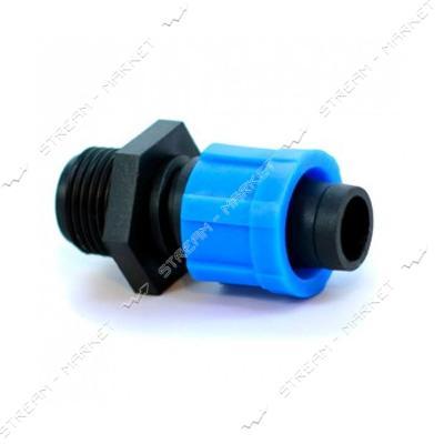 Presto-PS MТ-0117-34 Стартер для капельной ленты с резьбой 3/4 дюйма