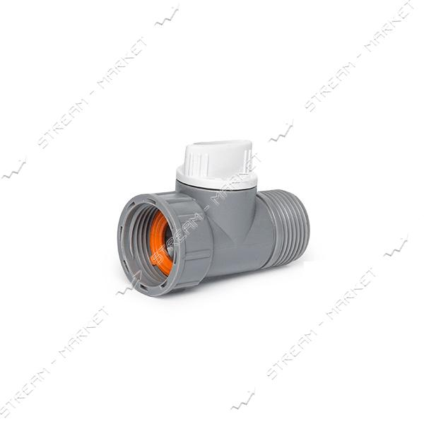 WHITE LINE WL-2232 Адаптер с краном РВ/РН 3/4' (внутренняя резьба) (только от упаковки)