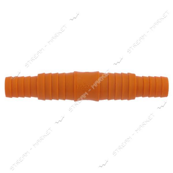 Трубка соедин. универсальная 1/2-3/4 цветная, оранж. Харьков (0-117)(0-086ш) только от упаковки 50 шт