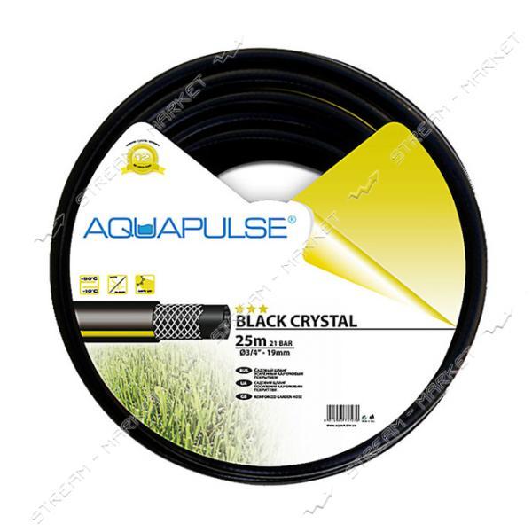 Шланг для полива трехслойный AQUAPULSE BLACK CRYSTAL 1 25м