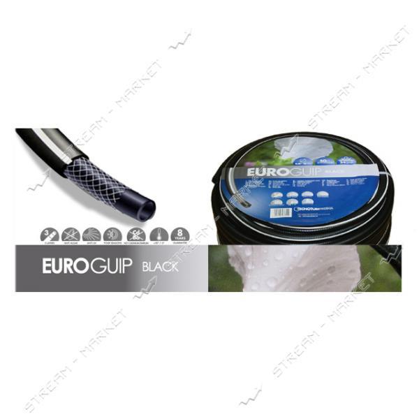 Шланг для полива трехслойный EUROGUIP BLACK 1 50м