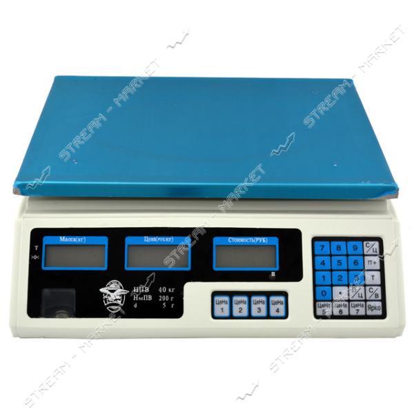 Весы электронные (торговые) 40кг (Китай)